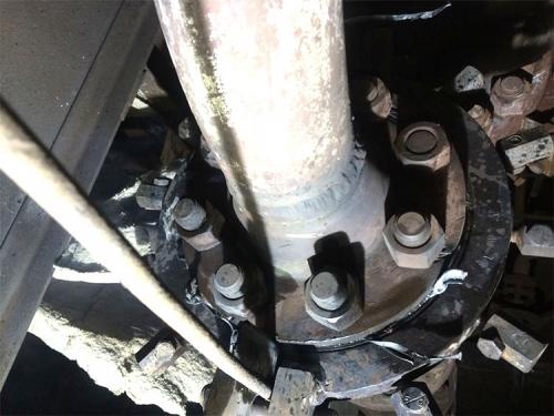 通化钢铁高温蒸汽法兰堵漏